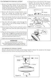Hampton Bay Ceiling Fan Manual by Ceiling Fan Flush Mount The Home Depot Community
