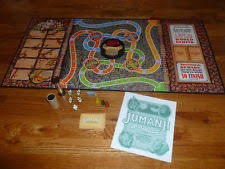 Milton Bradley Jumanji Board Game 99 Complete 1995