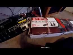 Craftsman 2 Ton Aluminum Floor Jack by Craftsman 2 Ton Jack And Stands Unboxing Youtube
