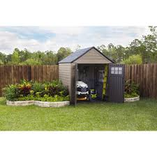 8x8 Rubbermaid Shed Home Depot by Rubbermaid Big Max 7 Ft X 7 Ft Storage Shed Blue Carrot Com