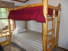 log bunk bed plans bedroom ideas decor