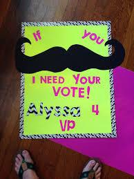 Alyssa Student Council Poster