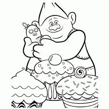 Trolls Dibujos Para Colorear Infantiles Y Pintar Los Niños
