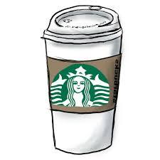 HD Starbucks Cup Drawing Cdr