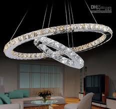 modern suspension hanging light led k9 pendant light