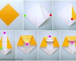 Simple Origami Owl For Kids Easy Peasy And Fun Paper Folding Art