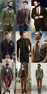 Latest Mens Fashion Trends 2016 Earth Color Tone Suit For Men