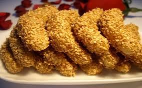 cuisine marocaine facile gâteaux aux graines de sésame recette de gâteaux aux graines de
