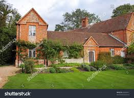 100 Www.home And Garden Medieval Red Brick English House Stock Photo Edit