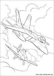 Disney Planes Coloring Pages To Print Colouring Pixar