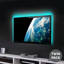 100cm led streifen usb tv hintergrundbeleuchtung beleuchtung kit agl colour changing pack