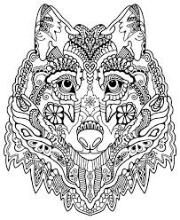 Photos Coloring Printable Complex Animal Pages In Of Animals Fun Color Page