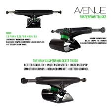 100 Truck Suspension Avenue Skateboard Gen 1 Bicycles PMDs Personal