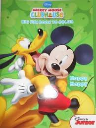 Disney Mickey Mouse Coloring Book