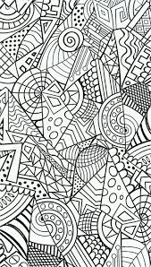 Adult Zen Anti Stress Harmonious Forms Coloring Pages Printable And Book To Print For Free Find More Online Kids Adults Of
