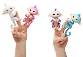 Fingerlings Glitter Monkey 1799