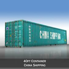 100 Shipping Container 40ft China