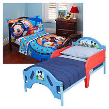 disney s mickey mouse toddler bed bedding set bundle home