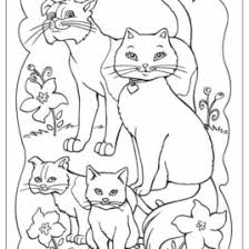 Animal Family Coloring Page AZ Pages