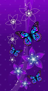Wallpaper Butterflies Mobile Birds