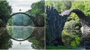 100 Water Bridge Germany The Devils In Kromlau Park Was Designed To