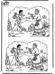 Find The Differences Puzzle Lost Son Parable Puzzles Coloring Pages