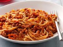 calories spaghettis à la bolognaise