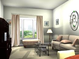 Home Decor Ideas For Living Room Magnificent Minimalist Design Cream Fabric Sofa Shade Lamps Rectangle Glass