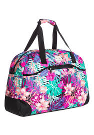 roxy too far travel bag for women multicolor planet sports