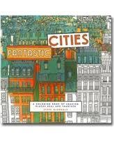 Steve McDonalds Fantastic Cities Coloring Book