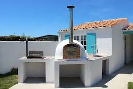 four a pizza exterieur exceptionnel cheminee barbecue exterieur en brique 11 my