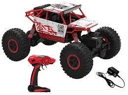 Buy Webby Remote Controlled Rock Crawler Monster Truck, Red Online ... Daymart Toys Remote Control Max Offroad Monster Truck Elevenia Original Muddy Road Heavy Duty Remote Control 4wd Triband Offroad Rock Crawler Rtr Buy Webby Controlled Green Best Choice Products 112 Scale 24ghz The In The Market 2017 Rc State Tamiya 110 Super Clod Buster Kit Towerhobbiescom Rechargeable Lithiumion Battery 96v 800mah For Vangold 59116 Trucks Toysrus Arrma 18 Nero 6s Blx Brushless Powerful 4x4 Drive