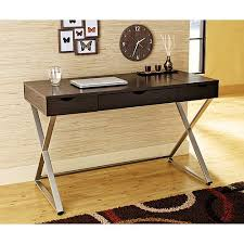 Whalen Samford Computer Desk by Hometrends Welgrove Desk Paulownia Wood Finish Walmart Com