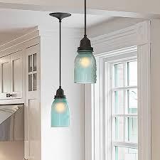 pendant lighting ideas glass jar pendant light large