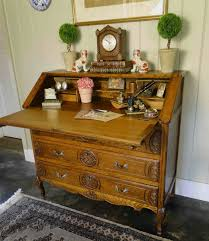 Drop Front Writing Desk by Other Furniture French And English Antiques
