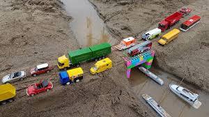 Car Toy Videos For Kids | Excavator, Truck, Dump Truck, Cranes, Boat ...