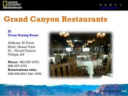 El Tovar Dining Room Grand Canyon by Grand Canyon Restaurants Dining At The South Rim