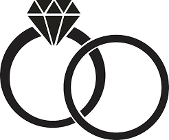 Diamond Ring set vector art illustration