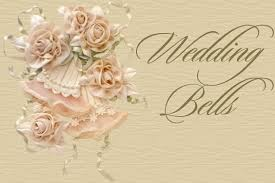 Wedding Bells Background Set