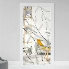 glastür aufkleber sichtschutz folie milchglasfolie glasdekor