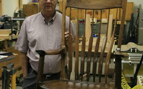 Local Woodworker Replicates Rocking Chair Designed By Sam ...