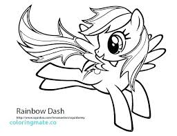 My Little Pony Coloring Sheets Rainbow Dash Page Pages Princess Awesome Equestria Girl To Print
