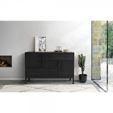 modernes sideboard otto schwarz im nordischen stil