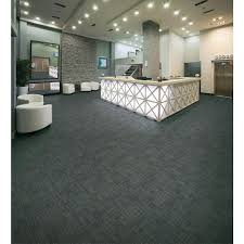 Simply Seamless Carpet Tiles Home Depot by Null Carnegie Graphite Loop 19 7 In X 19 7 In Commercial Carpet