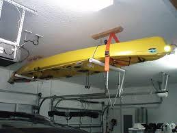 Kayak Ceiling Hoist Australia by Best 25 Garage Hoist Ideas On Pinterest Kayak Garage Storage