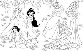 Free Download Coloring Disney Princess Pages Online Games With Princesses