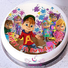 Alvin And The Chipmunks Cake Decorations Uk by Alvin U0026 The Chipmunks 7 5