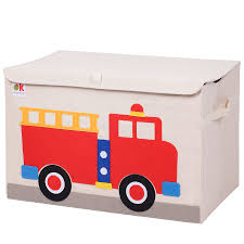 100 Fire Trucks For Toddlers Wildkin Olive Kids Truck Toy Box Reviews Wayfair