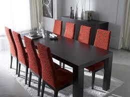 modern glass dining room sets modern dining room sets for big
