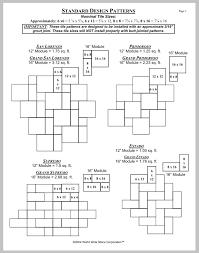 tile patterns durango